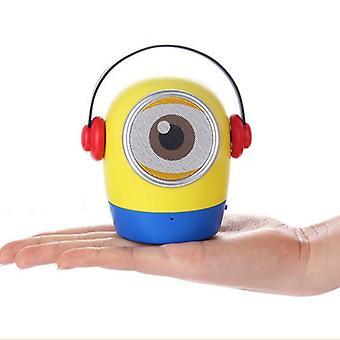 2021 Mini-Lautsprecher Bluetooth Lautsprecher tragbare Lautsprecher Tf Karte Wireless Lautsprecher für Kinder Kinder Cartoon Geschenke