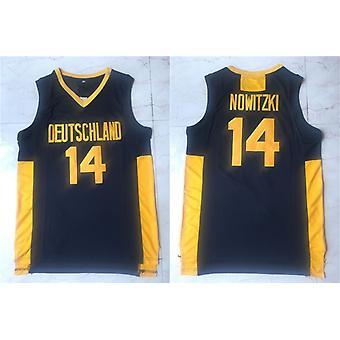 Men's Basketball Jersey 14 Nowitzki Sports Shirts Stitched Size S-xxl
