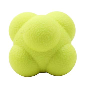 Hexagonal Reaction Ball Silicone Agility Coordination Reflex Exercise Sports Fitness Training Ball