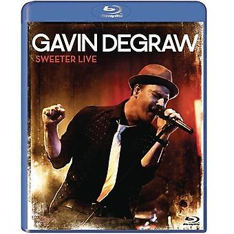 Gavin Degraw - importation USA Sweeter Live [Blu-ray]