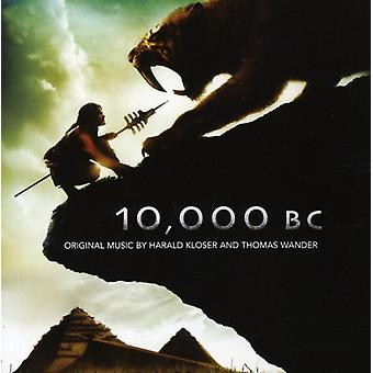 Kloser/Wander - 10.000 BC [Original Motion Picture Soundtrack] [CD] EUA importar