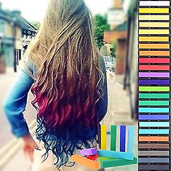 Hairchalkin® 36 Non-Toxic Temporary Hairchalk Hair Pastel Chalk Beauty Kit