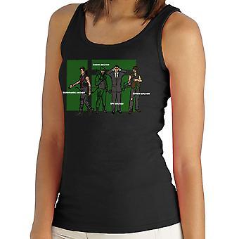 Archer Confusion Superhero Green Spy Zombie Women's Vest