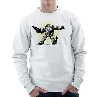 Pair Bond Big Daddy Little Sister BioShock Men's Sweatshirt