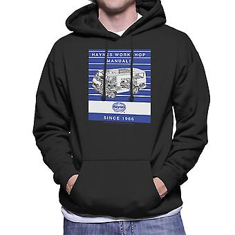 Haynes Workshop Manual 0637 Volkswagen LT Van Stripe Men's Hooded Sweatshirt
