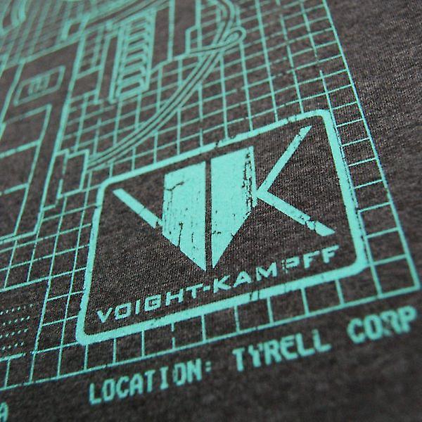 Honcho SFX Mens Voight Kampff Machine T Shirt Charcoal Heather