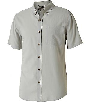 Royal Robbins Mid-Coast Seersucker S/S Shirt - Light Pelican