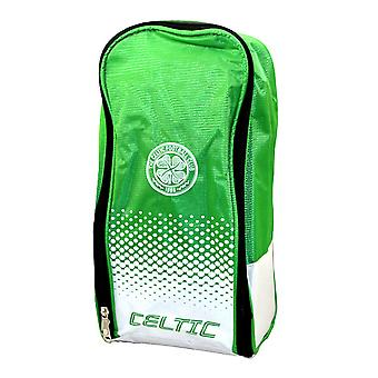 Celtic FC officiella Fade fotboll Crest Design skopåse