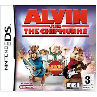 Alvin en de Chipmunks (Nintendo DS)-nieuw