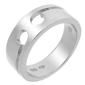 Orphelia srebro 925 pierścień Diamond Shine ZR-3444