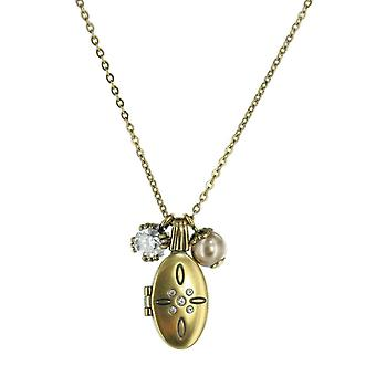 Fossil ladies chain necklace stainless steel casket JF86444040