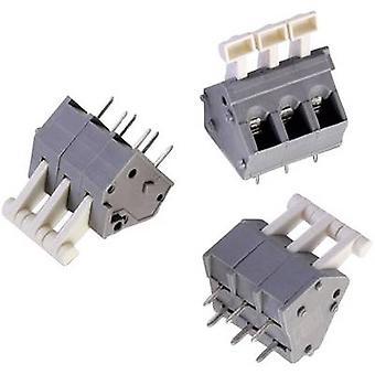 Würth Elektronik WR-TBL 4147 B Spring-loaded terminal 0.33 mm² Number of pins 2 Grey, White 1 pc(s)