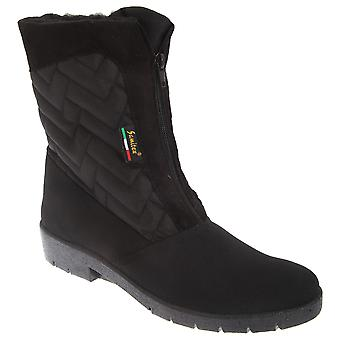 Mod Comfys Womens/dames centrum Zip Warmlined thermische Winter laarzen