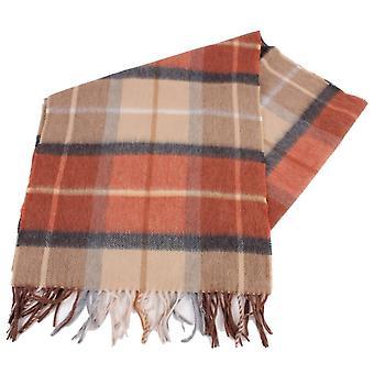 Bassin ja ruskea Lillee tarkistaa Cashmere huivi - ruskea/oranssi
