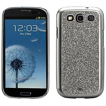 Case-Mate Barely There Glam Case for Samsung Galaxy S III - Silver