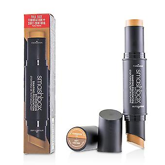 Smashbox Studio Skin Shaping Foundation + Soft Contour Stick - # 3.2 Cool Medium Beige - 11.75g/0.4oz