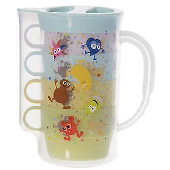 Babblarna-Jug with mugs
