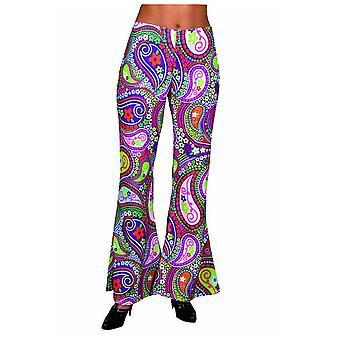 Mannen kostuums Hippie broek funky kleuren