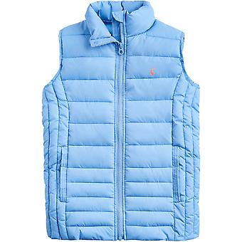 Joules Mädchen Croft leichte Pack Away Gilet Thermoweste