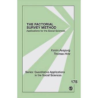 Los experimentos factoriales encuesta - aplicaciones de la Ciencia Social
