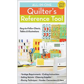 All-in-One Quilter's Reference Tool - Easy-to-follow Charts - Tables &