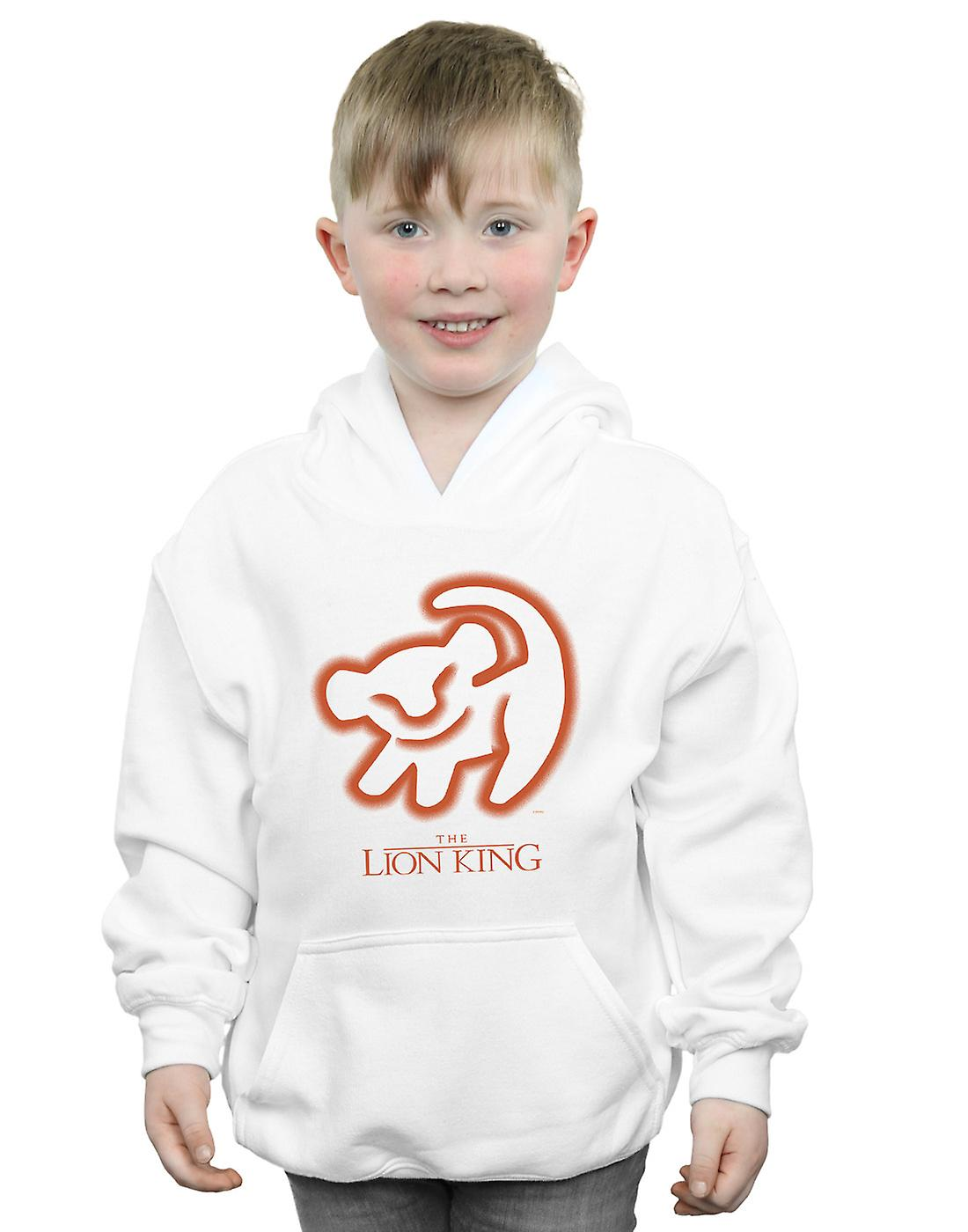 Disney Boys The Lion King Cave Drawing Hoodie