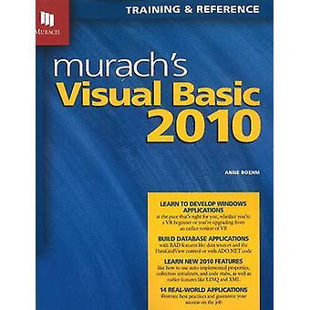 Murach's Visual Basic 2010 by Anne Boehm - 9781890774585 Book
