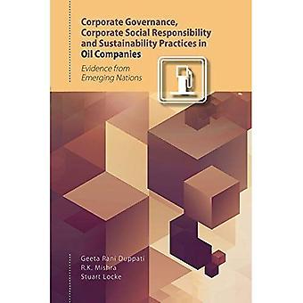 Corporate Governance, yritysten sosiaalisen vastuun ja kestävän kehityksen käytäntöjä öljy-yhtiöt: saadut sulautuville