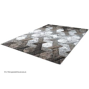 Swing Hex Beige Rug