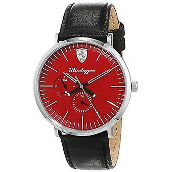 Scuderia Ferrari reloj Multi dial cuarzo hombres con cuero 830567