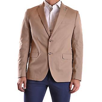 Michael Kors Ezbc063018 Uomini's Beige Cotton Blazer
