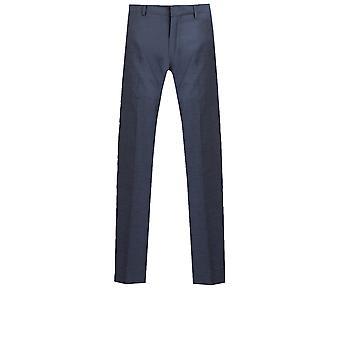 Dobell Mens Mississippi blauen Anzug Hose Slim Fit
