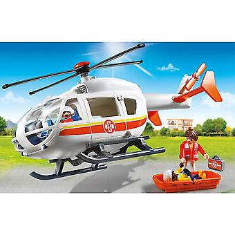 Playmobil 6686 City Life Emergency Medical Helicopter