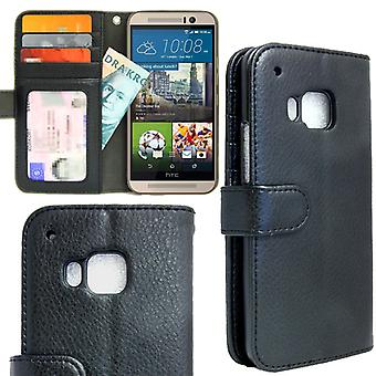 Wallet Case HTC ONE M9 with ID/photo Pocket 4pcs Card