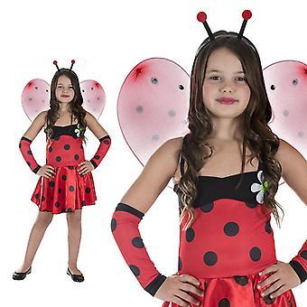 Ladybug beetle forest girl Kids costume beetle costume