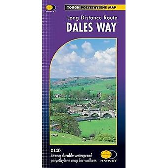 Dales Way XT40 by Harvey Map Services Ltd. - 9781851374281 Book