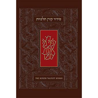 The Koren Talpiot Siddur - Hebrew Prayerbook with English Instructions