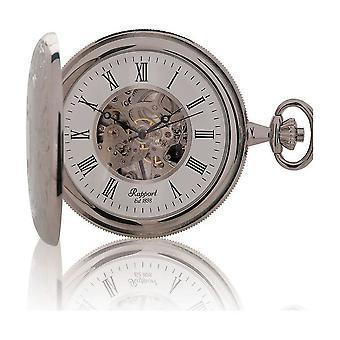 Rapport London Pocket Watch mechanische dubbele opening volledige Hunter PW97