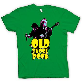 Mens T-shirt - AC/DC - Old Skool Rock - Guitar - Rock Band - New