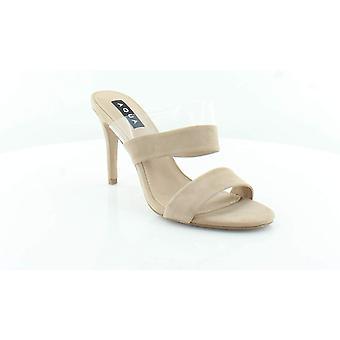 Aqua Womens Santo Suede Slide jurk sandalen