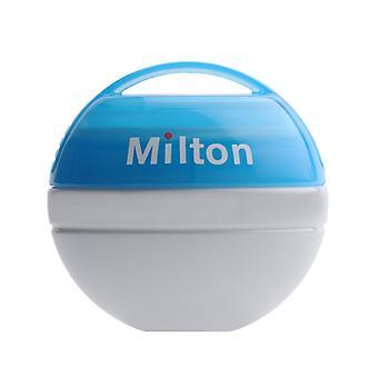 Milton mini Portable soother steriliser céu azul