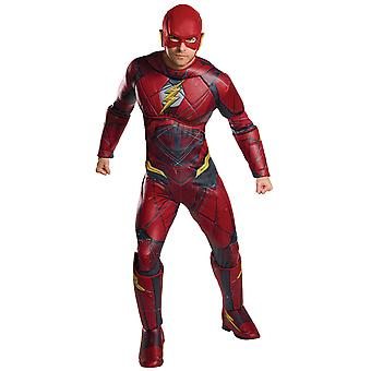 Volwassen Flash Costume-Justice League