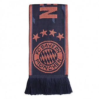 2019-2020 Bayern München Adidas 3S Schal (Navy)