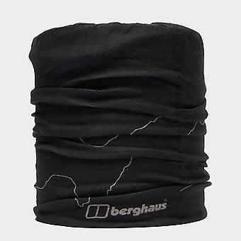 Nieuwe Berghaus Unisex fleece gevoerde nek gaiter zwart