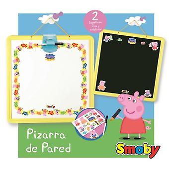 Smoby Peppa Pig Blackboard Display (Babies and Children , Toys , Educative And Creative)