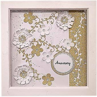 Paper Anniversary Frame by Sweet Pea Designs