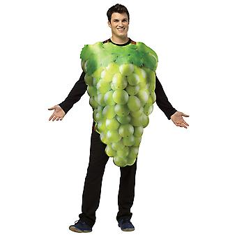 Get Real Green Grapes Fruit Food Party Comical Womens Mens Costume OS