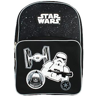 Star Wars Monochrome Skies Darth Vader Empire Large Pocket Children's Backpack