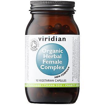 Viridian Herbal Female Complex Organic Veg Caps 90 (936)