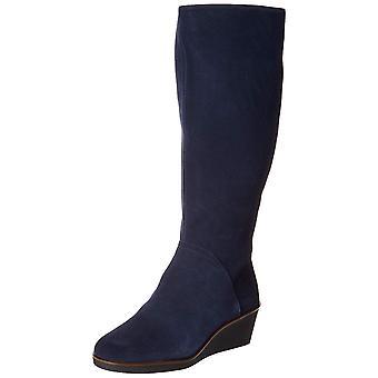 Aerosoles Kobiety's Lornetka Knee High Boot, Ciemnoniebieski Zamsz, 8,5 M USA